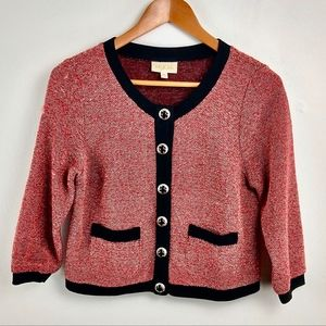 ModCloth Sweaters - Modcloth Embellished Jackie O Cardigan Small S